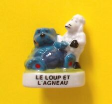 1 FEVE BRILLANTE > LE LOUP ET L'AGNEAU.. FABLE DE LA FONTAINE