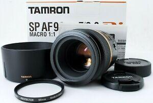 【TOP MINT】Tamron SP AF 90mm f/2.8 Di MACRO 1:1 for Nikon w/Box & Hood from Japan