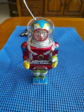 "Celebrate It 5.5"" Blown glass Space Man Christmas Ornament"