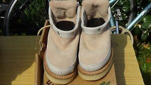 GEORGE COX TRUE VINTAGE ROCK 70 80  CREPE RUBBER CREEPERS UK 3 SHOE BOOT NEW
