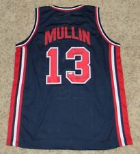 CHRIS MULLIN AUTOGRAPHED SIGNED DREAM TEAM USA #13 BASKETBALL JERSEY TRISTAR