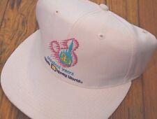 WALT DISNEY WORLD 20th Anniversary Hat MICKEY MOUSE SNAPBACK CAP Logo RARE