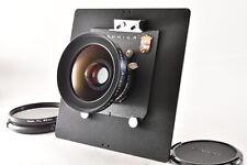 【Rare! Linhof Mark N MINT】Schneider Super Angulon 90mm F5.6 MC Kardan from JAPAN