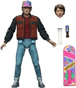 """Back to the Future Marty McFly Ultimate Edition 7"""" 18cm Action Figur Neca"""