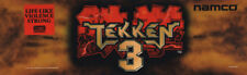 "Tekken 3 Arcade Marquee 26"" x 8"""