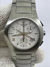 LONGINES L3.618.4 OPPOSITION CHRONOGRAPH QUARTZ MENS 38mm SWISS MADE