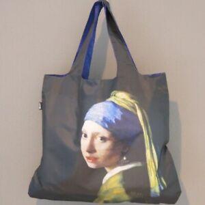 LOQI Tasche JOHANNES VERMEER Girl with pearl Earring Museum BAG Einkaufstasche