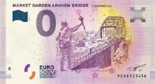 Nederland 0 euro biljet 2019 - MARKET GARDEN - Pays-bas Netherlands banknote
