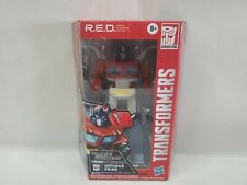 "Transformers G1 Optimus Prime 6"" R.E.D. Series Walmart Exclusive RED"