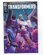 Transformers # 2 Variant Cover B NM IDW