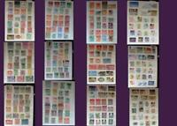 Stamp Collection From Austria Lichtenstein & United States, Free Shipping