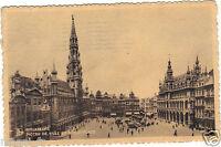 Belgique - cpa - BRUXELLES - L'Hôtel de Ville et la Grand'Place ( i 3277)
