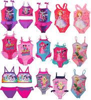 Girls Official Licensed Swim Wear   Swimming Costume   Bikini   Swimsuit