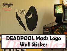 Deadpool Mask Oversize Wall Vinyl Sticker