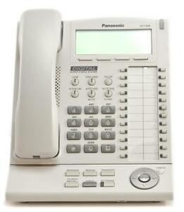 Fully Refurbished Panasonic KX-T7636 Large Backlit Display Speaker Phone (White)