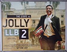 Cinema Poster: STATE VS JOLLY LL.B 2  2017 (Quad) Ram Gopal Bajaj
