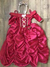 DISNEY Girls Belle Beauty and The Beast Costume Fancy Dress  5-6 Years