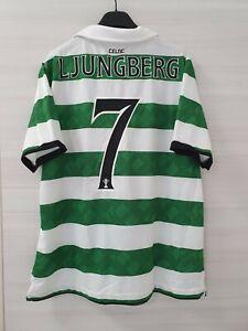Maglia Shirt Camiseta Trikot Calcio Football Celtic Ljungberg Home M 2010/11