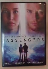 PASSENGERS, LAWRENCE, PRATT, DVD, SINGLE DISC W/CASE & COVER ARTWORK