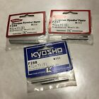 NIB Vintage Kyosho FZ66 FZ67 FZ68 SUPERTEN Suspension Shafts D,E,F FREE SHIPPING