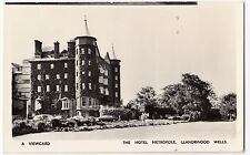 Powys; Llandrindod Wells, Hotel Metropole RP PPC, Unposted, From View