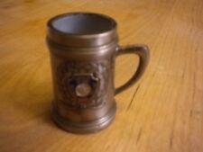 Vintage Lincoln's 10,000 Silver Dollar Montana Souvenir Stein/Mug Toothpick Hold