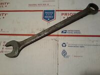 """Vtg P&C Tools 2734 1-1/16"""" Combination Box Open End Wrench 14.5"""" Long USA 12 Pt"""