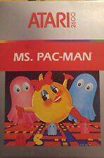 Ms. Pac-Man (Konami) ATARI VCS 2600 (module, emballage)