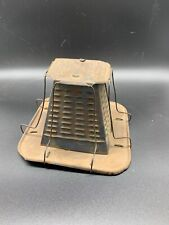 VINTAGE CAMPFIRE 4 SLICE TOASTER - RUSTIC NON ELECTRIC