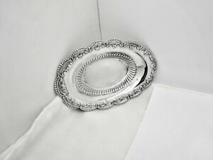 """ANTIQUE ALVIN CAMBRIDGE 882 STERLING SILVER PIN TRAY/NUT BOWL,5 3/8"""",NICE"""