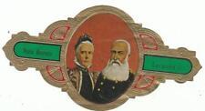 grote sigarenband - Maria Heriette & Leopold II - koning der Belgen