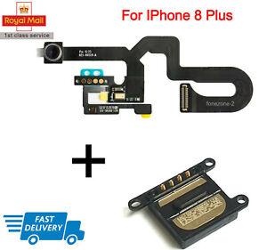 For IPhone 8 Plus Front Camera Sensor & Siri Microphone Flex Cable + Ear Speaker