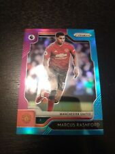 MARCUS RASHFORD 2019-20 Panini PRIZM PREMIER LEAGUE PURPLE BLUE PRIZM RED HOT