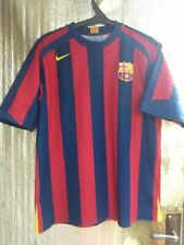 Barcelona Barca original Nike home shirt jersey camiseta 05-06 season Size L