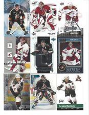 Lot of 1100 Phoenix Coyotes Hockey Cards Set Boxed Packs - Tkachuk Doan Smith