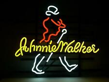 "Johnnie Walker Whiskey Beer Neon Light Sign 18""x14"""