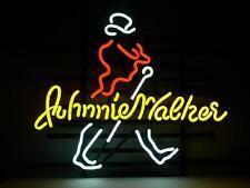 "Johnnie Walker Whiskey Beer Neon Light Sign 18""x14"""
