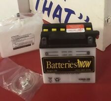 Batteries Now 12N9-3B With All Hardware And Acid Pack Free Shipping