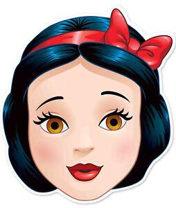 Schneewittchen Offiziell Disney Prinzessin Kindergröße 2D Karten Party Maske