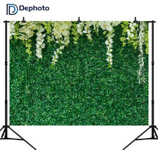 Green Leaves Flowers Wall Baby Shower Photography Backgrounds Wedding Backdrops