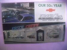 Kirsch Chevy auto car dealership 1960's Bala Cynwyd, Pa Chevrolet