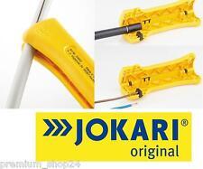 JOKARI Abisolierer Allrounder Kabel Messer für Elektro Installation & Elektriker