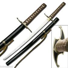 Ulquiorra Schiffer Murcielago High Carbon Steel Sword Metal Guard Back Strap