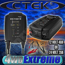 CTEK MXTS40 NEW MODEL 8 STAGE AUTO 40A 20A BATTERY CHARGER 24V 12V WORKSHOP BOAT