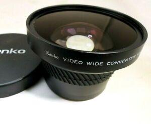 Kenko 52mm Video Wide Angle Conversion Lens AUX KVC 0.5X PRO Japan