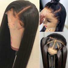 Real Remy Peruvian Virgin Human Hair Wigs Lace Front Full Wigs Smooth Straight