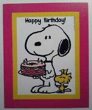 Peanuts ♡ Woodstock ☆ Snoopy ♡ Magnet ♡ Happy birthday