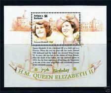 Royalty Antiguan & Barbudan Stamps (1981-Now)