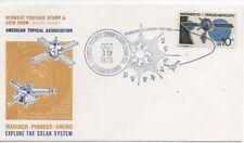 Ungeprüfte Briefmarken mit Raumfahrt-Motiv aus den USA