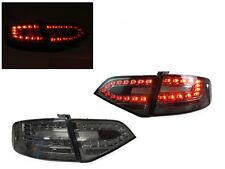 *DEPO Euro Spec RS4 Look LED All Smoke Tail Light 09-12 Audi A4 B8 4D Sedan New